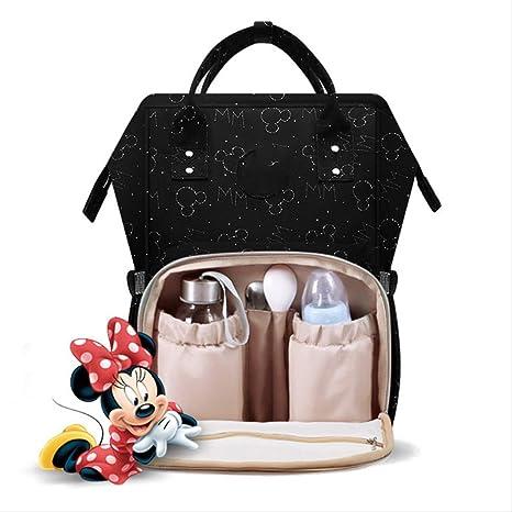 Bolsa de pañales Disney Mochila USB Botella Bolsas de ...