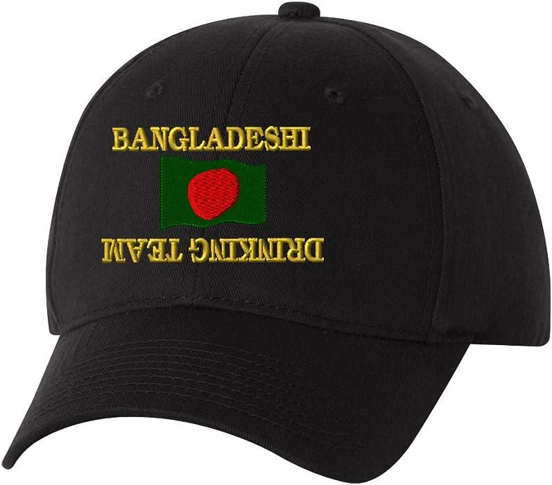 295b46e3e Amazon.com: BANGLADESHI DRINKING TEAM Custom Personalized Embroidery ...