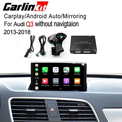 Carlinkit Car Airplay Android Auto Carplay Box Interface for Audi Q3  Factory Screen Upgrade with Android Auto iOS12 AirPlay Screen  Mirroring(Support