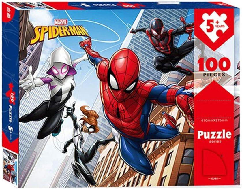 WYF Rompecabezas de Papel, Avengers Spider-Man Comics Marvel Superhero Poster 100,200,300 Unidades Fotografía en Caja Juguetes Juguetes Arte Pintura para Adultos Niños P626 (Size : 100pc): Amazon.es: Hogar