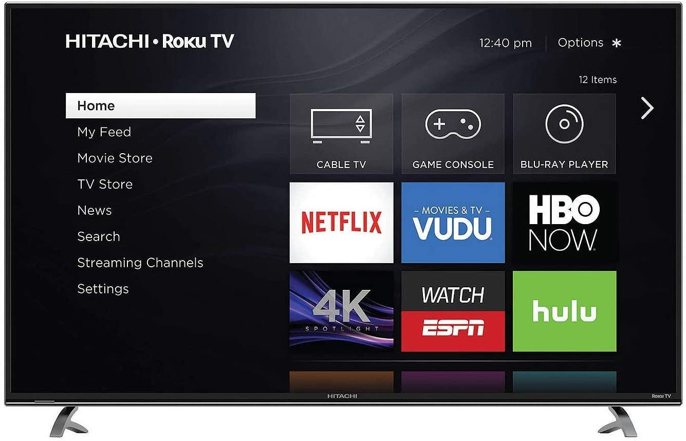 Hitachi 50R8 - TV LED Smart LED 4K UHD Roku 50