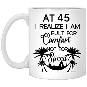 45th Birthday Gifts For Women Forty Five Years Old Men Gift Happy Funny 45 Mens Womens