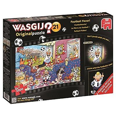 Jumbo 617408 Puzzle Febbre Del Calcio Multicolore Multi