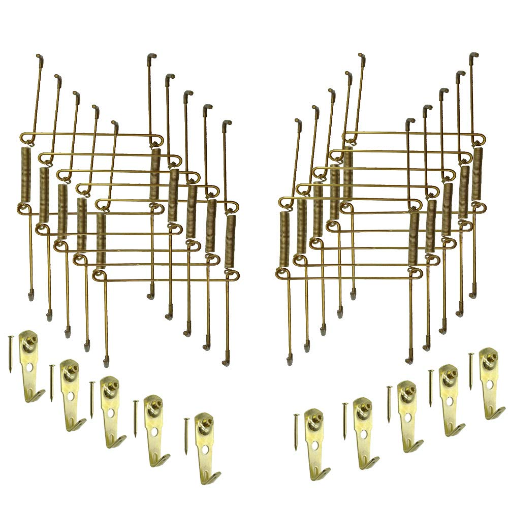 Xinlinke Plate Hangers for the Wall 8 Inch Non-scratch Decorative Dish Display Holder with Mounting Hardware 10 Pack