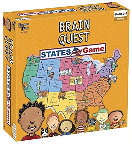 Download Brain Quest - States Game PDF, azw (Kindle)