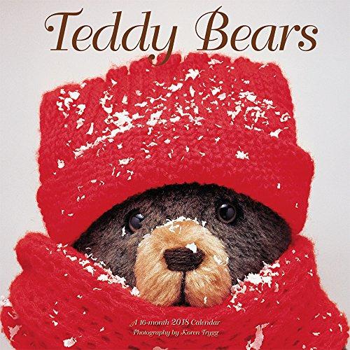 Teddy Bears 2018 12 x 12 Inch Monthly Square Wall Calendar by Wyman, Doll Children Stuffed (Bear Calendar)