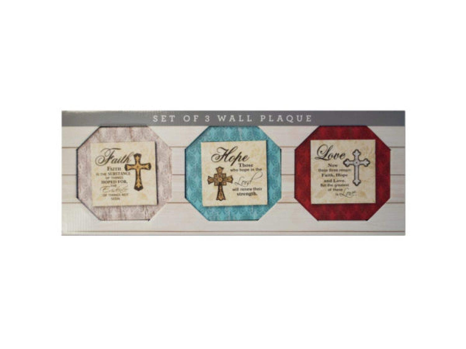 StarSun Depot Religious Themed Printed Canvas Wall Art Set - Set of 4
