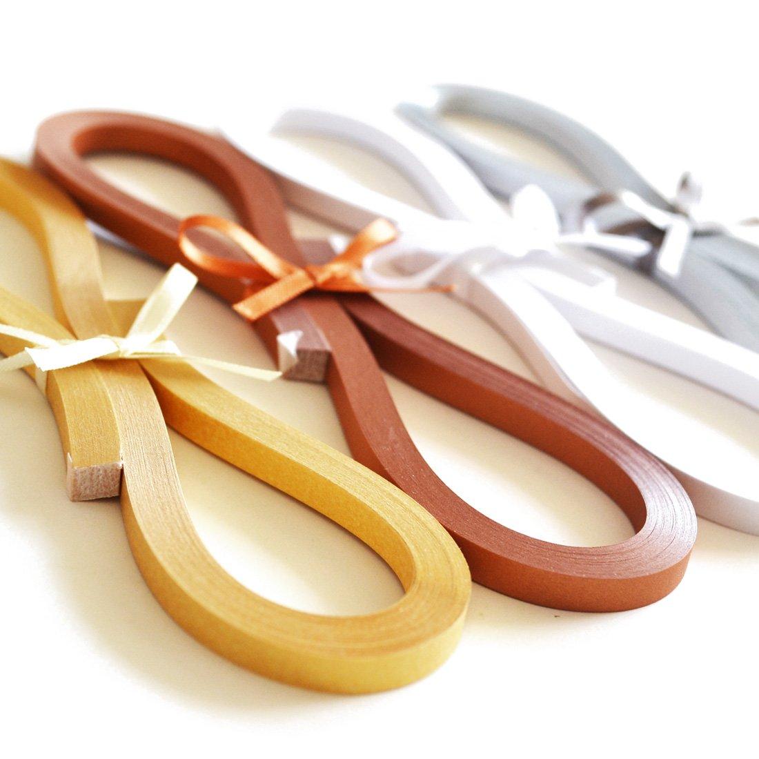 Juya Metallic-Papier Quilling Set 160 Streifen 4 Farben 355mm L/änge//Streifen Papierbreite 3mm