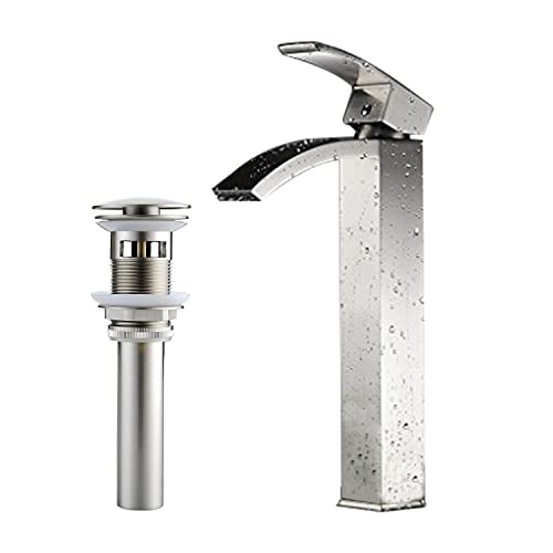 Vessel Sink Waterfall Faucets: Amazon.com