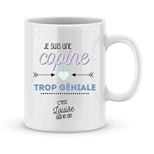 Mug Copine à Personnaliser Avec Votre Prénom Cadeau