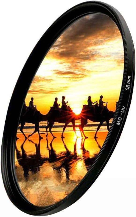 HonesThing 62mm UV Protection Lens Filter Multi-Resistant Coated Slim UV Filter 62mm 62mm UV Filter