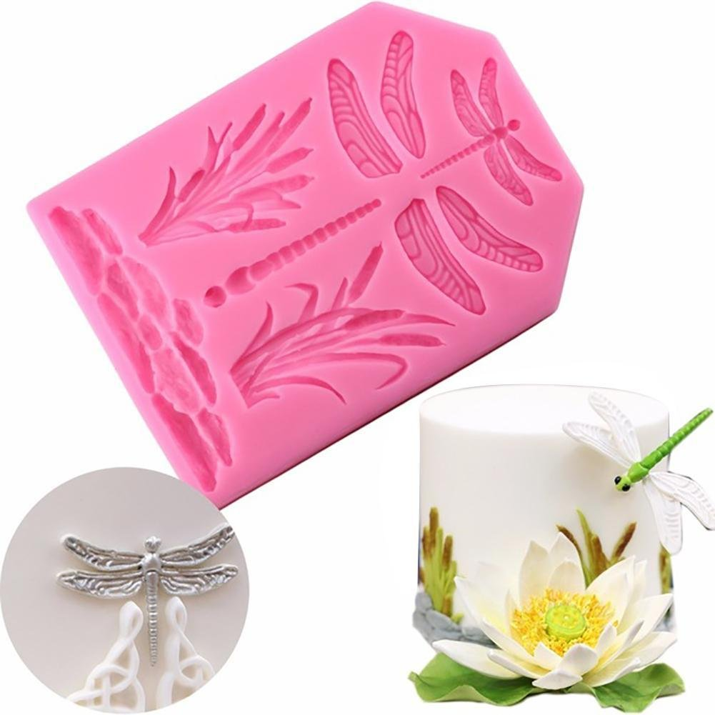Clay Dragon Fly Sugarcraft Mold Mould  for Sugar Cake,Cup Cake
