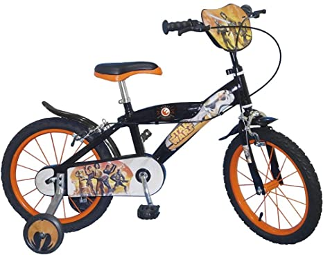 Bicicleta infantil Star Wars Rebels 40.64 cm colour negro Storm ...
