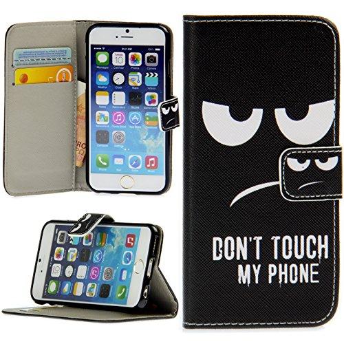 Handy Lux® Schutz Hülle Tasche Kartenfächer Flip Case Etui Cover Involto Motiv Design Hülle BookStyle für Huawei P30…