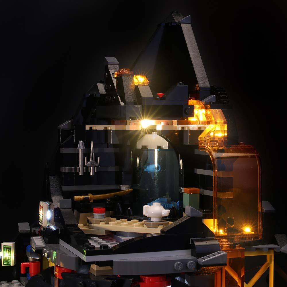 BRIKSMAX Kit de Iluminación Led para Lego Ninjago Garmadons ...