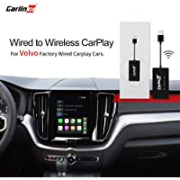 Carlinkit 2.0 Wireless CarPlay Adapter for Factory Carplay Cars, for Porsche Mercedes-Benz, and Volvo XC90 XC60 XC40 S90 V90 V60 2016-2020 Convert Wired CarPlay to Wireless CarPlay, Online Upgrade