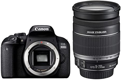 Canon EOS 800D + EF-S 18-200mm F3.5-5.6 IS Juego de cámara ...