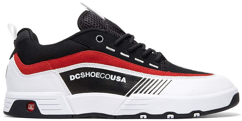 c3518f4617fe Amazon.com: DC Legacy 98 Slim Skate Shoes Black/White/Red Mens Sz 13: Shoes