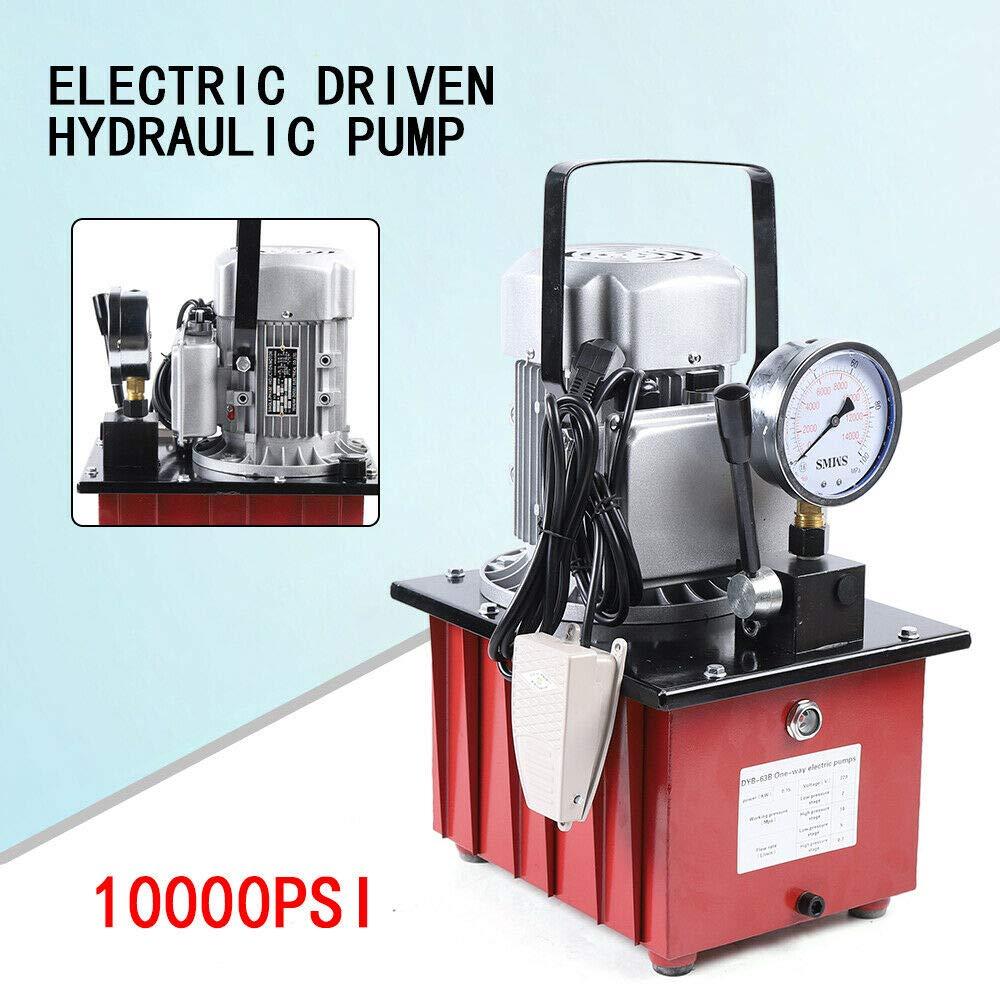 Bomba hidr/áulica el/éctrica 750 W, con v/álvula manual, 1400 r//min Jasemy
