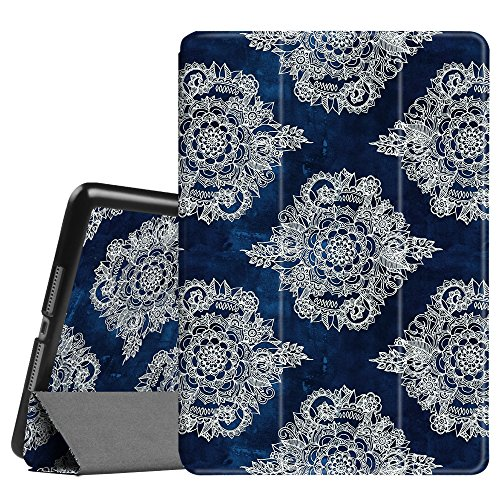 Fintie iPad Air 2 Case - [SlimShell] Ultra Lightweight Stand Smart Protective Cover with Auto Sleep/Wake Feature for Apple iPad Air 2, Moroccan