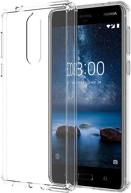 Ferlinso Funda Nokia 8, Protección contra caídas Air híbrido ...