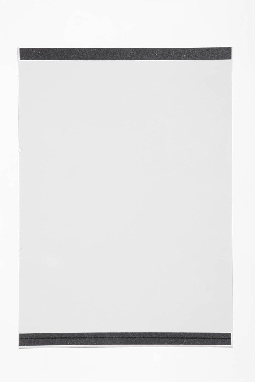 DURABLE 487419 - Tasca magnetica Duraframe Magnetic, tasca a fissaggio magnetico, per superfici metalliche, f.to A4, trasparente