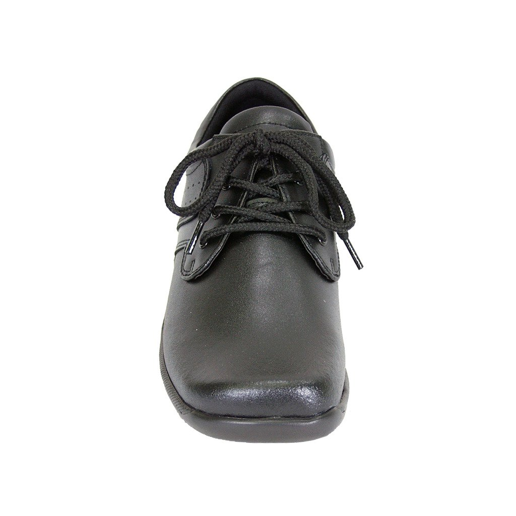 24 Hour Comfort  Meg Women Extra Wide Width Lace up Shoes Black 9 by 24 Hour Comfort (Image #3)