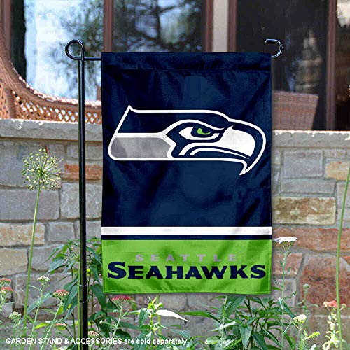 (WinCraft Seattle Seahawks Double Sided Garden)