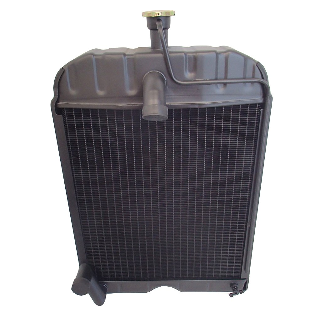 8N8005 Radiator with Cap made to fit Ford Tractor 2N 8N 9N by Aftermarket Ford
