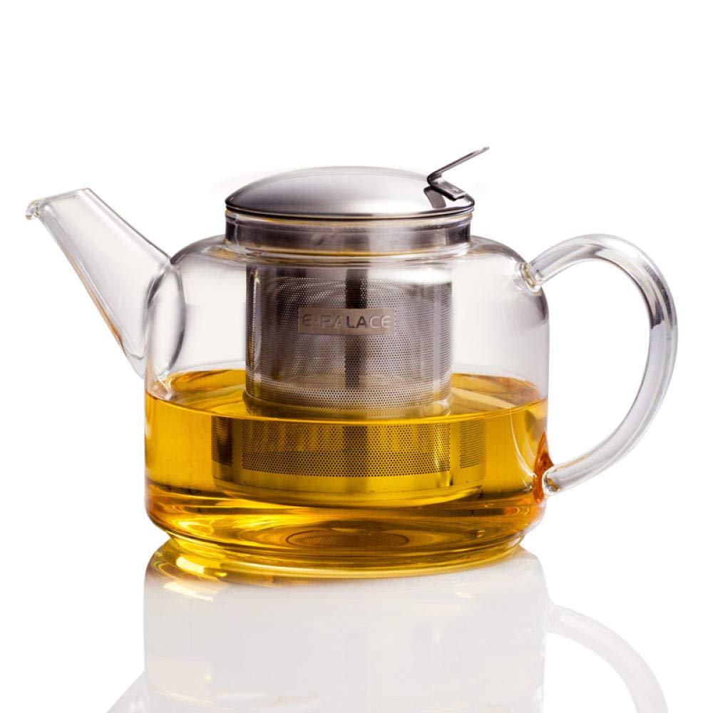 POTOLL Teiera Set teiera in Vetro teiera in Vetro teiera in Vetro da 750 ml Prezzi