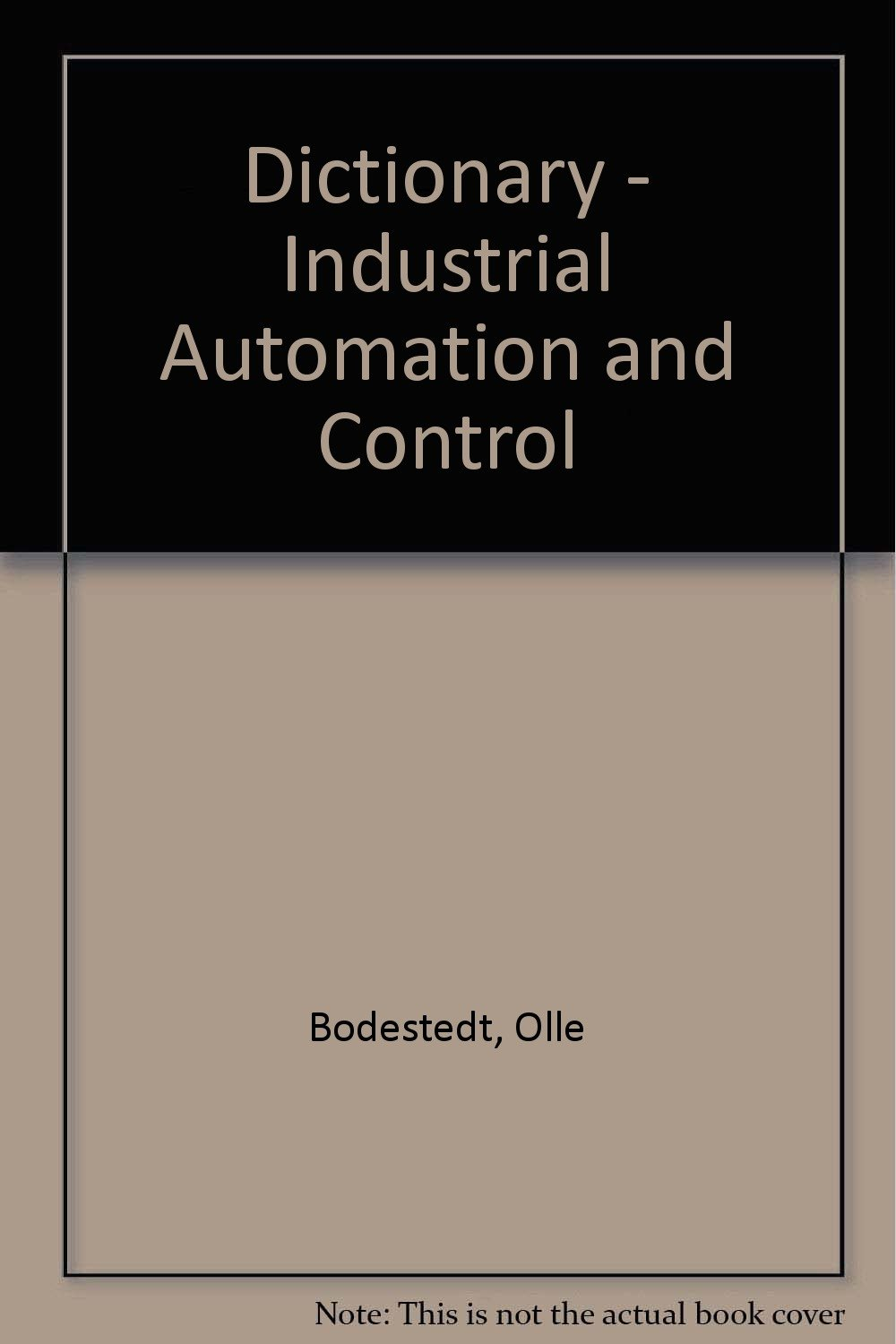 Dictionary - Industrial Automation and Control: Amazon co uk