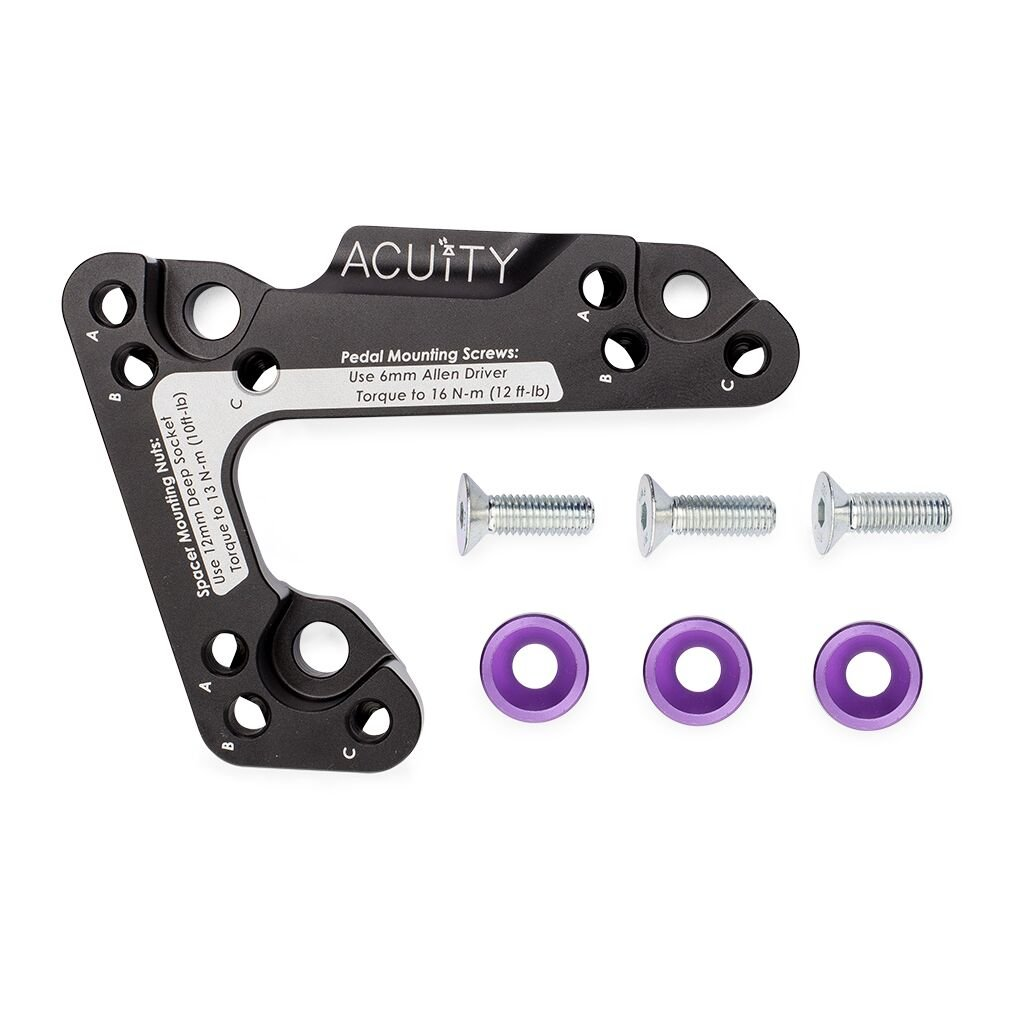 Throttle Pedal Spacer for the 2012-2017 Honda Civic and 2014-2017 Honda Fit