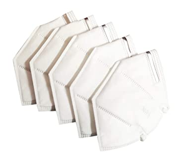 Sassoon ® Original N95 Protective Mask (White) -5 Pieces: Amazon