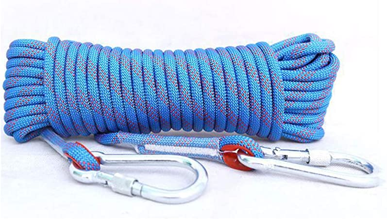 LIANCANG-Rope Cuerda para Escalar, 0.4 Pulgadas De Diámetro ...
