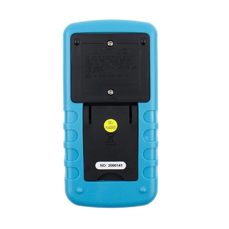 Dig dog bone USB digital multimeter car dedicated dwell angle/rotation number/voltage/current, resistance/capacitance/frequency/duty cycle EM130 by Dig dog bone (Image #2)