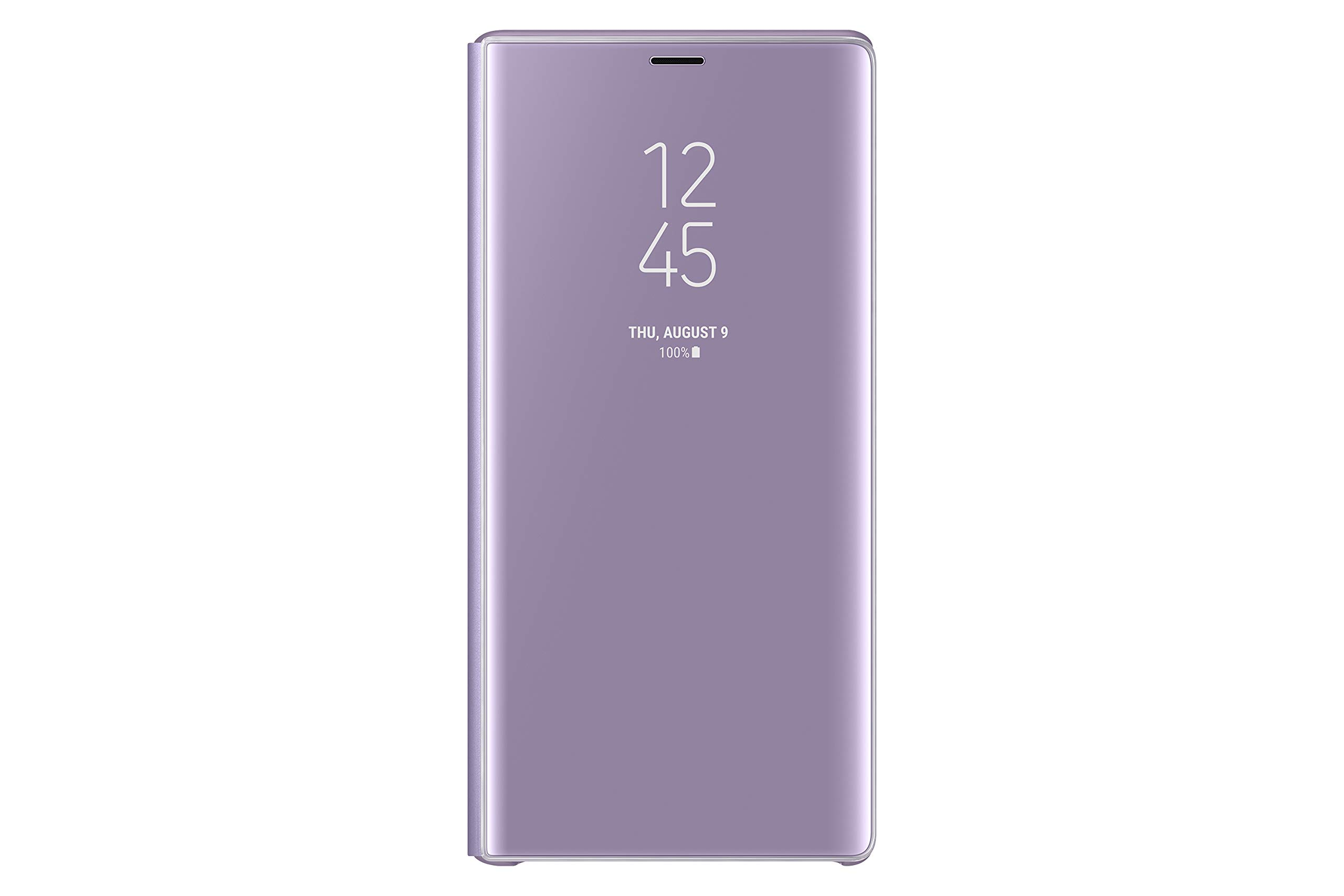 Samsung Galaxy Note9 Case EF-ZN960CVEGUS S-View Flip Cover with Kickstand, Lavender Purple by Samsung