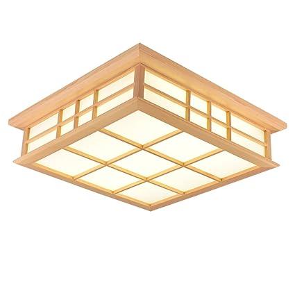 KAIRRY Lámpara De Techo Japonesa LED Lámparas Lámpara De ...
