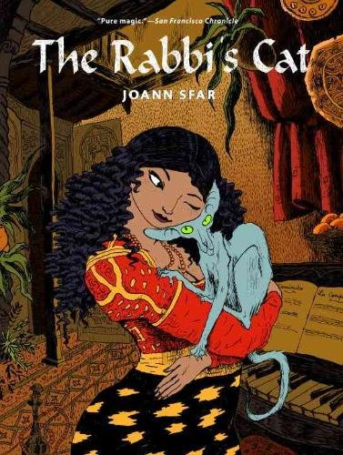 Book cover for The Rabbi's Cat