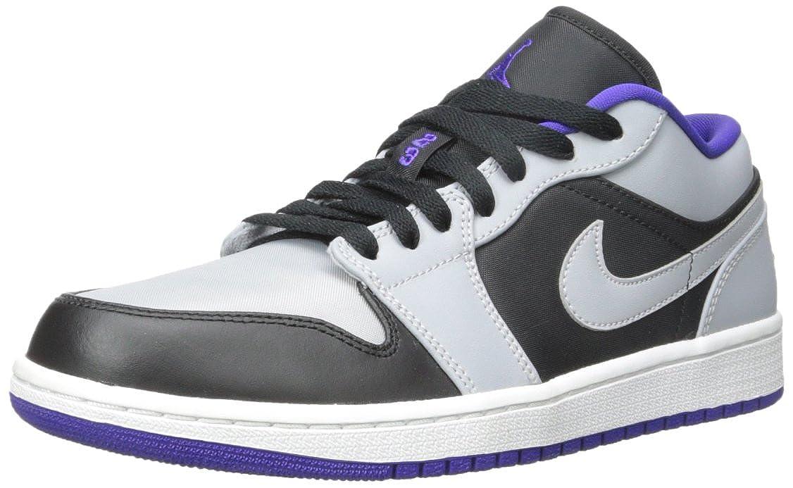 [ジョーダン] Nike Air 1 553558-014 パフォーマンスバスケットボールシューズ US サイズ: 11 M US B00JWYUTK6 Black/Dark Concord/Wolf Grey 11 M US
