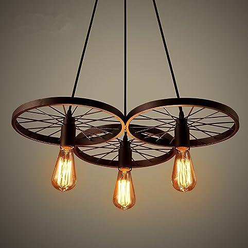 Retro Industry Design Pendelleuchte Im Loft Style, Esszimmer Vintage Retro  Hängeleuchte Lampe,Wohnzimmer