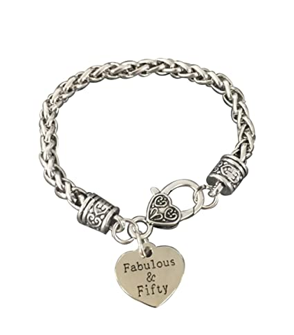 Amazon.com: Infinity Collection - Pulsera de 50 cumpleaños ...