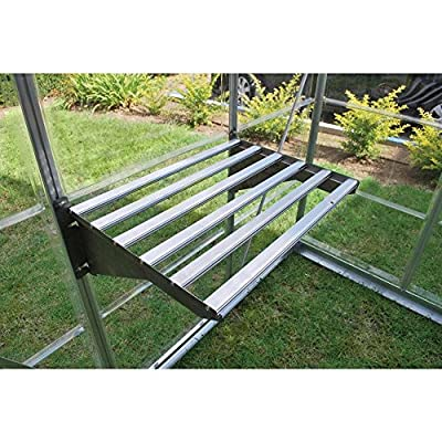 Heavy Duty Greenhouse Shelf Bundle (4 piece) by Palram Inc.