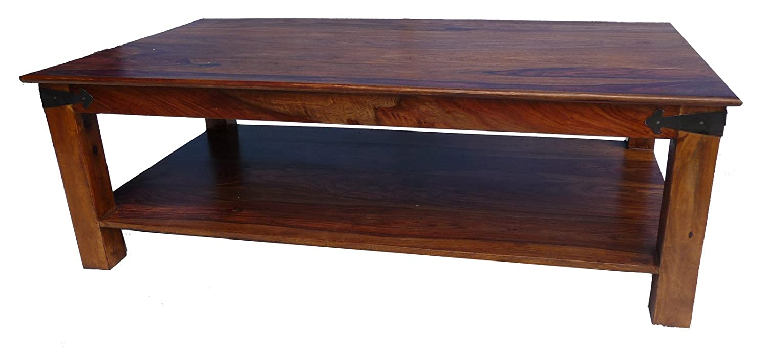 Jali solid indian rosewood thaket brown large coffee table jali solid indian rosewood thaket brown large coffee table exclusive extra large strong amazon kitchen home geotapseo Choice Image