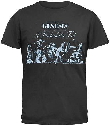 Impact Genesis - con Fantasmas de la Cola y Suave t-Camiseta de Manga Corta Negro: Amazon.es: Ropa y accesorios