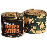 THREE ARMS ボクシング バンテージ グローブ 2個1セット 伸縮 タイプ 450cm