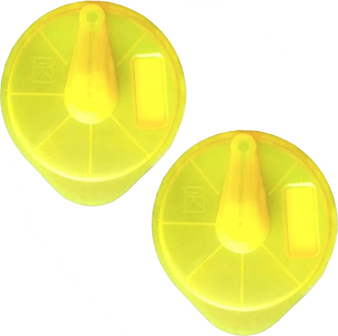 Spares2go - Disco T de limpieza amarilla para cafetera Bosch ...