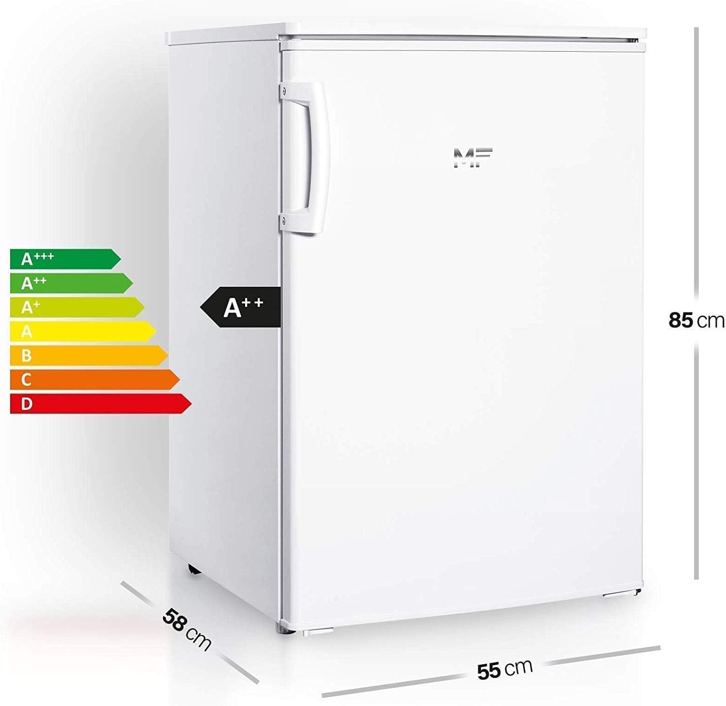 MF - Congelador (A++, de pie, 85 cm de altura, congelador de 4 ...