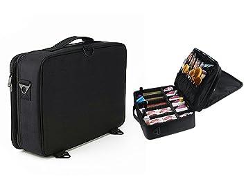 Amazon.com: Bolsa de viaje para cosméticos, maquillaje ...