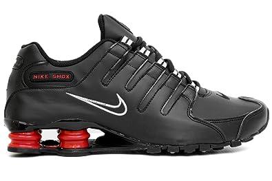 cheap for discount 2195d d4b6d NIKE Shox NZ Mens Running Shoes  378341-022  Black Black Mens Shoes