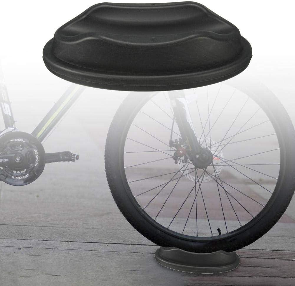 Almohadilla la Rueda Delantera la Bicicleta Soporte oque Underprop para Accesorios Bicicleta del Tren Turbo Trainer GCDN Almohadilla la Rueda Delantera la Bicicleta